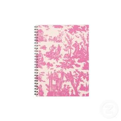 1 cute spiral notebook and good scissors