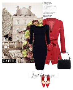 """www.zaful.com/?lkid=7493  (22)"" by nejra-l ❤ liked on Polyvore featuring Allstate Floral, women's clothing, women's fashion, women, female, woman, misses, juniors and zaful"