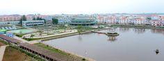 《우리 민족끼리》 - 문명개화된 농촌도시 장천남새전문협동농장