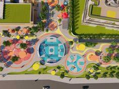 Home - mobile Landscape Design Plans, Landscape Architecture Design, Park Landscape, Urban Landscape, Parque Linear, Public Space Design, Home Building Design, Playground Design, Urban Park