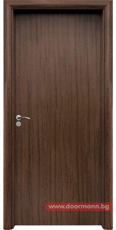Интериорна врата - Код 030, Цвят Орех