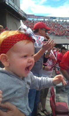 Fired up for football! (Submitted by Sara Rotter) This kid has it right! GO BUCKS!