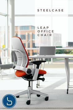 The Steelcase Leap Office Chair Adjusts To Your Back As You Move And Shift.