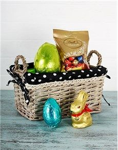 Buy hot chocolatey le creuset hamper online netgifts easter easter gifts and hampers easter bunny gift basket negle Gallery
