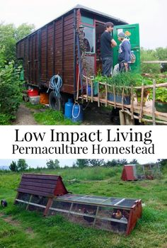 Sacrificial crops, Composting Loo, Wwoofing, and Bocking 14...intrigued? See this visit to a Permaculture homestead and learn what they have got to do with gardening! Low Impact Living - life on a Permaculture Homestead.