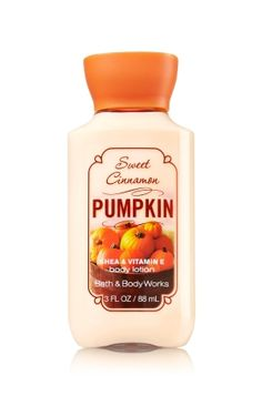 Sweet Cinnamon Pumpkin Travel Size Body Lotion - Signature Collection - Bath & Body Works $5.00