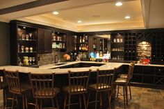 Sports Bar Design Ideas, Pictures, Remodel, and Decor - page 13