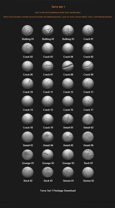 Free Custom Zbrush Brushes - Page 3