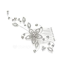 Headpieces+-+$23.69+-+Special+Alloy+Hair+Combs+(042041703)+http://jjshouse.com/Special-Alloy-Hair-Combs-042041703-g41703