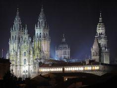 #Cathedral  (Santiago de Compostela, #Spain ) The Goal, when I did El Camino de Santiago