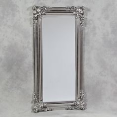 silver framed bathroom mirrors antique silver 3 fold free standing mirrored dressing 20360