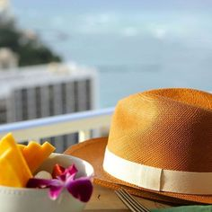 Take your hat off to a new vision of Waikiki. #AlohaChic