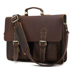 New Marco Tricca Work: 9938# British sty...  Check it out, comments are welcome.   Thanks  http://bestitem.co/products/9938-british-style-manual-lattice-crazy-horse-leather-crossbody-bag-business-man-portable-computer-bag-leather-briefcase?utm_campaign=social_autopilot&utm_source=pin&utm_medium=pin