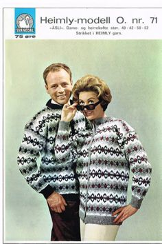 Åsli 71 Norwegian Knitting, Knitting Patterns, Men Sweater, Graphic Sweatshirt, Sweatshirts, Sweaters, Clothes Patterns, Traditional, Fashion