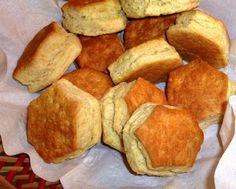 The Iowa Housewife: Never Fail Baking Powder Biscuits mine turned out a bit flat, i think i over needed them. but quick and easy and still tasted good. Homemade Baking Powder, Baking Powder Biscuits, Buttermilk Biscuits, Bread Bun, Yeast Bread, Cooking Bread, Quick Bread, No Bake Desserts, Low Carb Recipes