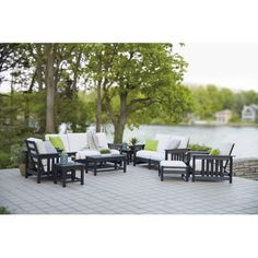 Found it at Wayfair - Mission 8 Piece Deep Seating Group
