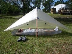 26 repins! ZPacks.com Ultralight Backpacking Gear - Hexamid Cuben Fiber Tent