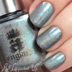 a-england Captive Goddess holo nail polish swatch - Rossetti's Goddess collection via @alllacqueredup