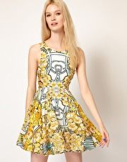 Alice McCall Amelie Dress in Ivy Nouveau Print