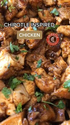 Chipotle Recipes, Mexican Food Recipes, Healthy Cooking, Cooking Recipes, Healthy Recipes, Fun Recipes, Cooking Food, Easy Chicken Dinner Recipes, Eating Clean