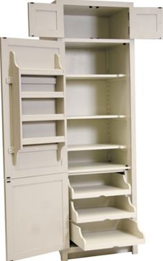 Nice,  simple but with a variety of shelves