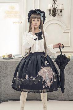 Marie A -The Mechanics of the Heart- Lolita Skirt