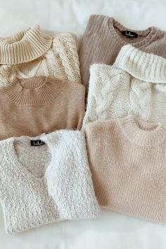 It's officially sweater weather! Shop the collection of fuzzy sweaters in a variety of colors to update your winter fashion. You'll be cozy and and comfy in these cute knits. outfits sweaters Get Cozy Ivory Sweater Winter Pullover Outfits, Fall Winter Outfits, Sweater Weather Outfits, Knit Sweater Outfit, Big Sweater, Hoodie Outfit, Summer Outfits, Country Style Outfits, Casual Outfits