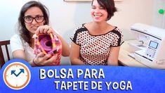 COMO FAZER 1 BOLSA PARA TAPETE DE YOGA (DIY com A Costureirinha) | Saúde...