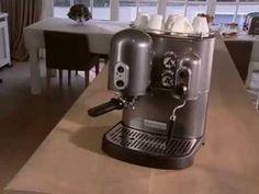 KitchenAid espressomachine 5KES100 - Startpagina voor keuken ideeën | UW-keuken.nl #koffie
