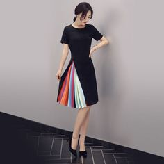Buy it for $22.53 on Tidebuy.   A great design often features a surprising concept in a very simple way and this dress is definitely one o...