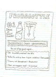 Frobscottle Ad, The BFG
