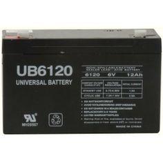 6v 10000 mAh UPS Battery for Panasonic LCR6V12P1 by UPG. $18.99. 6V 12Ah F1 UPS Battery for Panasonic LCR6V12P1. Save 19%!