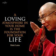 """A Loving atmosphere in the """"HOME""""❤️ Is the foundation of Life🙏🏻~* ☆♡ ⭐️☆♡ ~* Wise Quotes, Quotable Quotes, Great Quotes, Words Quotes, Sayings, Gandhi Quotes, Buddhist Quotes, Spiritual Quotes, Buddha Quotes Inspirational"""