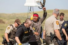 The Morton County Sheriff department is trying to keep life-saving supplies from Standing Rock water protectors