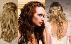 Hairstyles for the wedding! A lot of my bridesmaids can help do hair and make up!