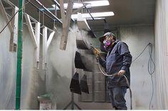 powder coating by premier powder coating and custom fabrication