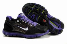 67f1c1071fa4 Womens Nike Lunarglide 2 Black Purple Shoes  Tiffany Free Runs 686 - 58.78  Purple