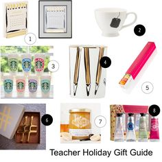 Teacher Holiday Gift