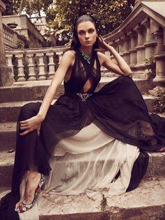 Jessica Stam   Koray Birand   Vogue Hellas June 2012   'VenusRising' - 3 Sensual Fashion Editorials   Art Exhibits - Anne of Carversville Women's News