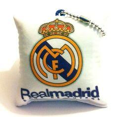 Real Madrid Cushion Pillow Keychain
