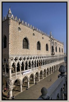 The Doges Palace.