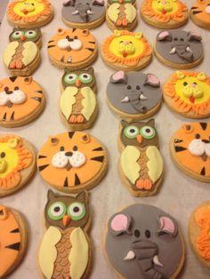 Μπισκότα - Ζωάκια Μεγάλα! #sugarela #mpiskota #ZoakiaMegala