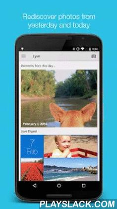 Lyve - Photo/Video Manager  Android App - playslack.com ,  The free Lyve app pulls all of your photos and videos together, organizes them into one collection, and gives you instant access anywhere. So, while you continue to capture your life's moments, let our service help you find, view, and share each one of them with those who matter most.Even better, you never have to sacrifice the resolution of your photos or videos, as each file is optimized for the best viewing quality no matter what…