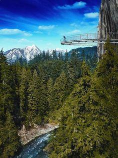 Cliff Walk, Capilano Suspension Bridge Park, Vancouver BC