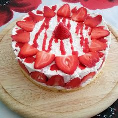 Epres túrótorta recept - Tortareceptek.hu Burlap Crafts, Watermelon, Cheesecake, Dinner Recipes, Pie, Fruit, Cooking, Cake, Torte