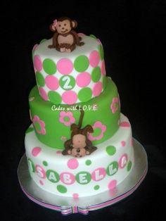 Polka-Dot Cake!