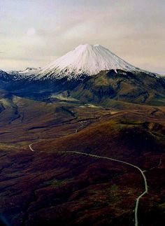 one of the coolest hikes ever! Mt. Ngaruhoe, New Zealand, Tongariro National Park by moonjazz, via Flickr