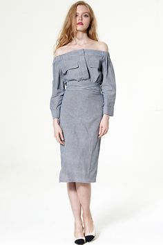 Bernadette Wrap Skirt Discover the latest fashion trends online at storets.com