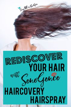 No matter how you style your hair - curls, half up, beachy waves or ponytails - we all use hairspray.  SeneGence HairCovery Thickening & Volumizing Holding Spray is the best out there.  Make life simple - grab yours NOW!  #senegence #hairspray #haircoveryhairspray #haircovery #besthairspray
