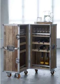 Contemporary Home Mini Bar Design Inspirations for Small Bars for Home Mini Bar Liquor Cabinet Home Mini Bar Cabinets Home Mini Bars Furniture Tiny Hotel Minibar Refrigerator Design Ideas In Black From Metal With Glass Door on We Heart It Industrial Design Furniture, Industrial Loft, Bar Furniture, Furniture For You, Furniture Design, Furniture Boutique, Business Furniture, Reclaimed Furniture, Refinished Furniture